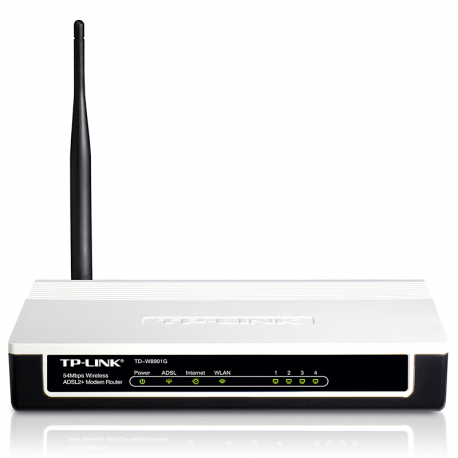 TP-LINK TD-W8151G 54Mbps Wireless ADSL2+ Modem Router