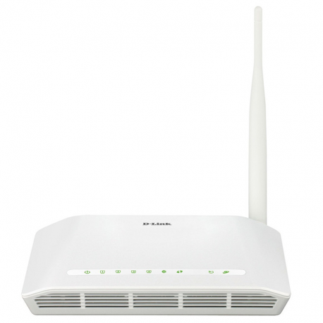 D-Link DSL-2730U Wireless N150 ADSL2+ Modem-Router