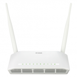 D-Link DSL-2750U Wireless N300 ADSL2+ Modem-Router
