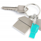 PNY key attache USB 2.0 Flash Drive - 8GB