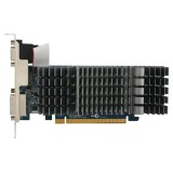 ASUS GeForce® 210 SILENT 1GB DDR3 64-Bit Graphics Card EN210 SILENT/DI/1GD3/V2[LP]