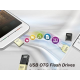 Silicon Power Mobile X10 OTG USB 2.0 Flash Drive - 16GB