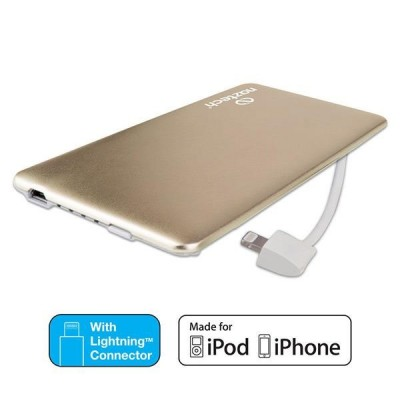 NAZTECH PB3200 MFi Slim Power Bank - 3200 mah