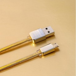 Gold King kong Data Cable For Micro