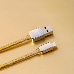 Gold King kong Data Cable For Lightning