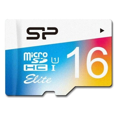 Silicon Power Color 16G Elite microSDHC UHS-I U1 85MBps Class10