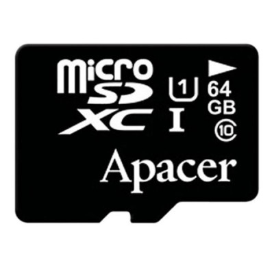 Apacer 64GB MicroSDHC UHS-I 85MBps Class10