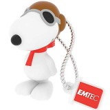 EMTEC Snoopy Flying Ace USB 2.0 Flash Drive - 16GB