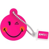 EMTEC SW105 Smiley Wink Girl USB 2.0 Flash Drive - 16GB