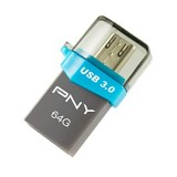 PNY OU3 OTG USB 3.0 Flash Drive - 64GB